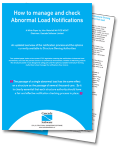 How to manage and check Abnormal Load Notifications